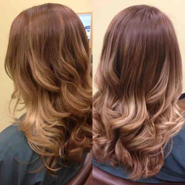 Окраска волос Омбре в Минске  c2159a3bd6683
