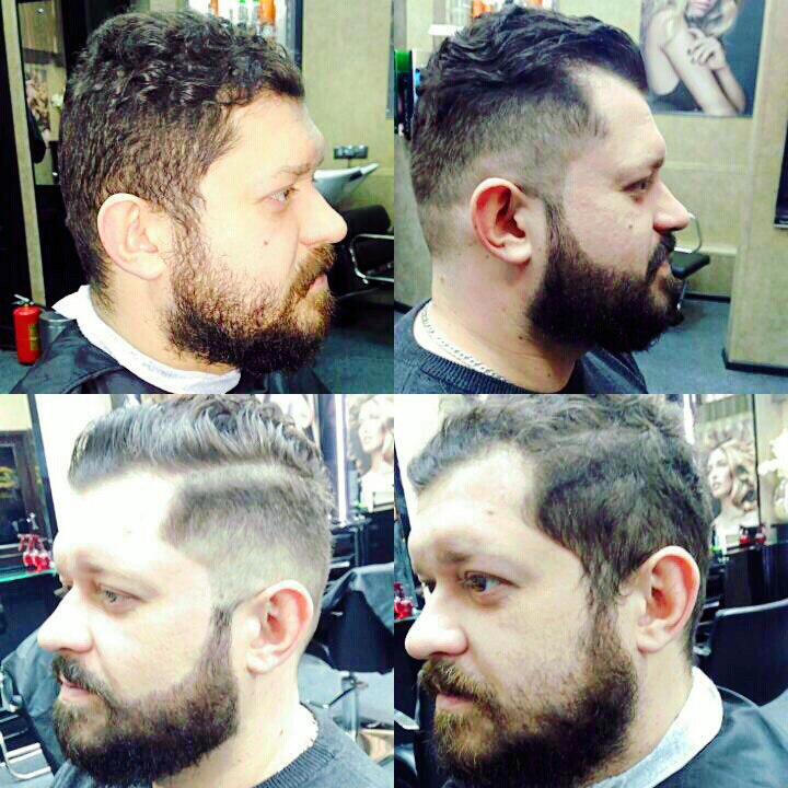 фотография до и после стрижки